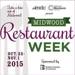 TAKE A BITE OUT OF MIDWOOD! Our first-ever Restaurant Week is coming this fall!