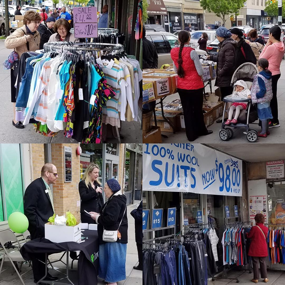 Shoppers scored deals and discounts in yesterdays Midwood SidewalkSale! Thankhellip