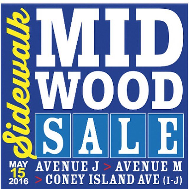 TODAY! ShopLocal at the Midwood SidewalkSale 11am5pm!