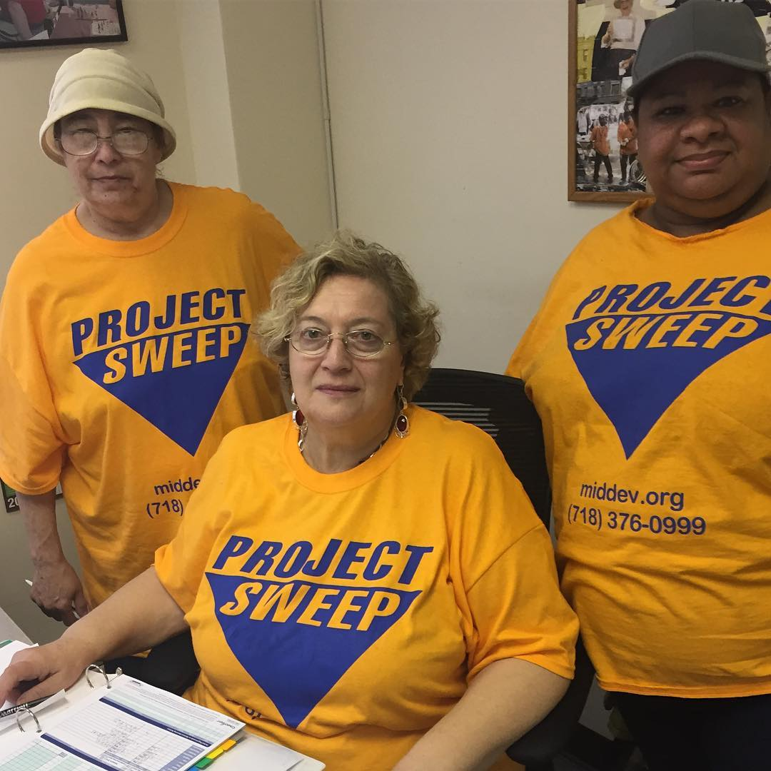 MDC staffers proudly sporting their ProjectSweep shirts Learn more abouthellip