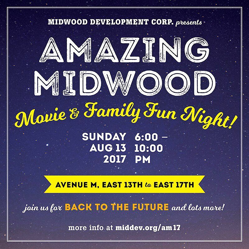 Save the Date! AmazingMidwood Movie amp Family Fun Night returnshellip