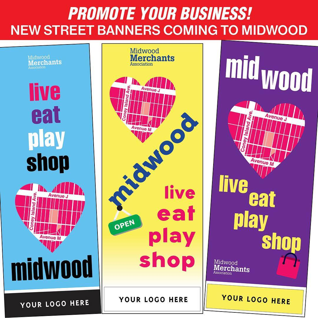 Local Midwood merchant? Sponsor a street banner on Avenue Jhellip