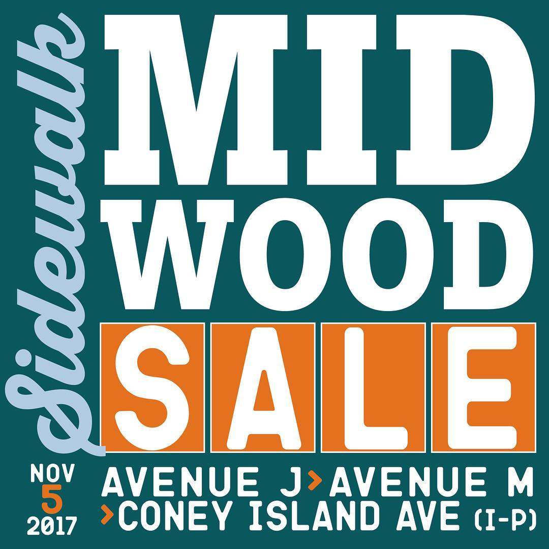 SHOP LOCAL! The Midwood Sidewalk Sale is Sunday November 5thhellip