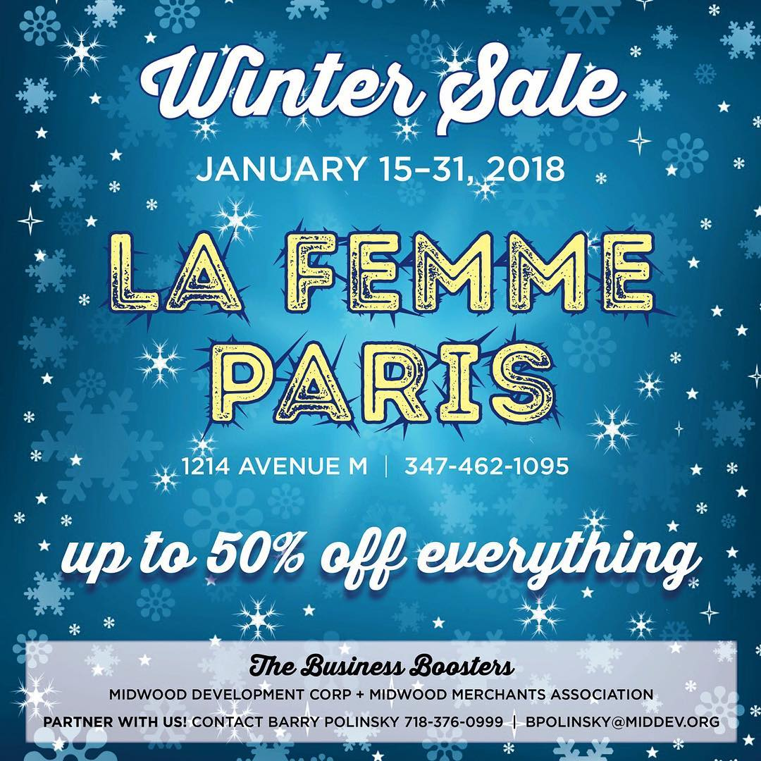 The Big WINTER SALE is on at La Femme! Visithellip